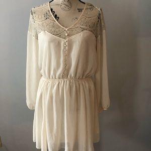 River Island long sleeve dress size 16